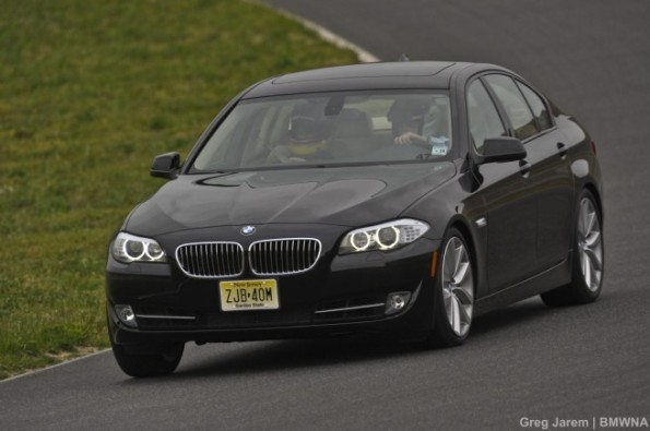 2011 BMW 5 Series back on the race track