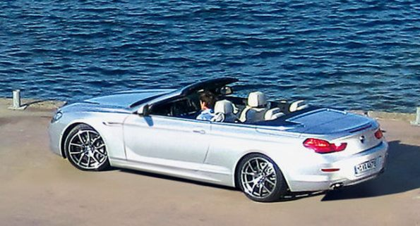 2012 BMW 6-Series Convertible Snapped Without Camouflage