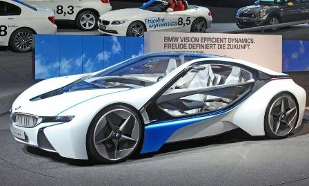 2012 BMW M8 Hybrid Supercar