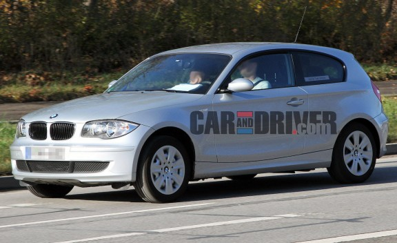 2013 BMW 1-series Hybrid - Spied