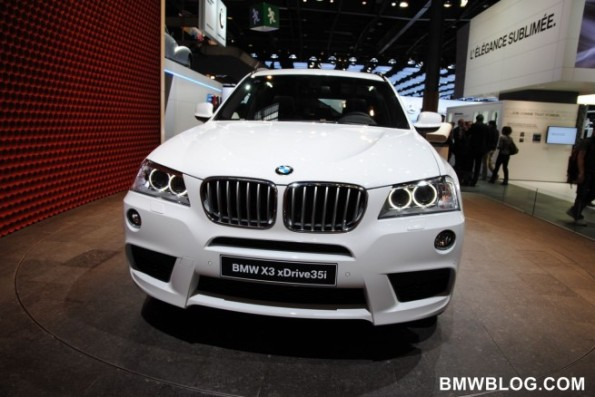 First Look 2011 BMW X3