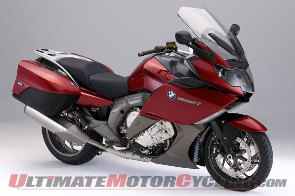 2012 BMW K1600GT and GTL Six-cylinder Unveiled