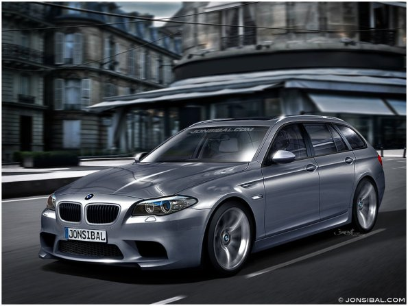 Rendered 2012 BMW M5 Touring