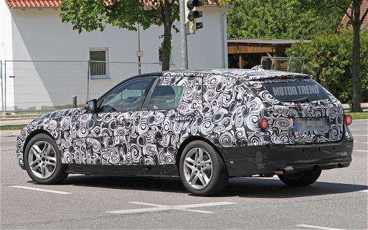 Spied! 2012 BMW 3 Series Wagon Caught On The Road