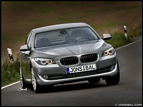 The new BMW 5 Series Sedan has won Silver in the 2011 Design Award