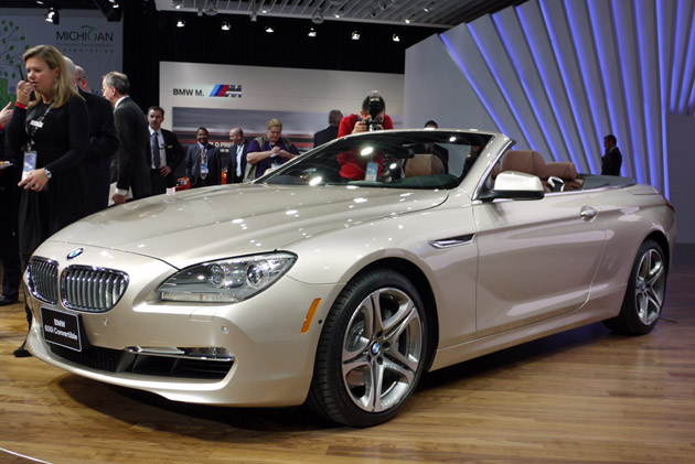 2012 BMW 650i Convertible goes topless in the Motor City | BMW Auto Cars
