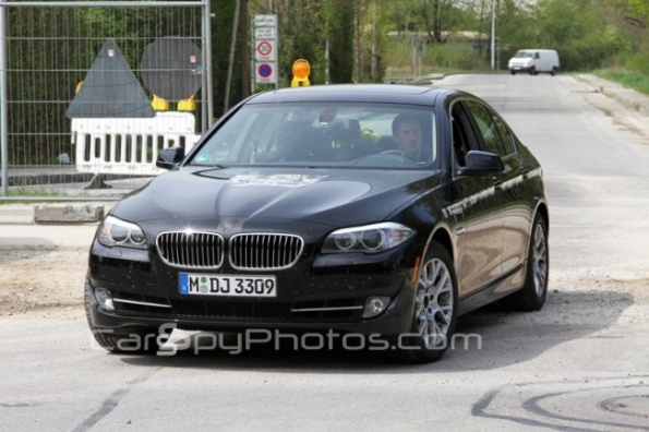 2012 BMW 5-Series Hybrid